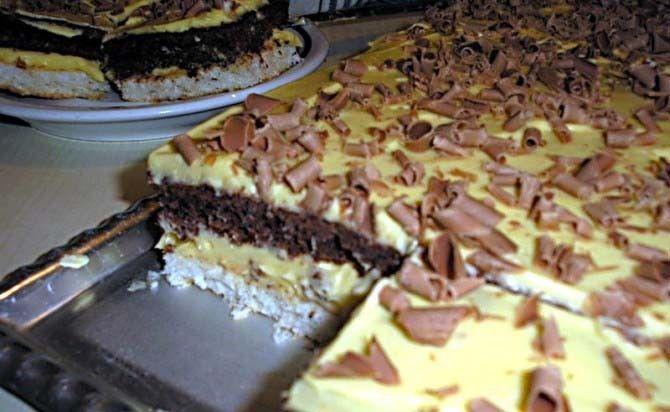 Famózní krémovo-kokosový RAFFAELLO koláč | NejRecept.cz