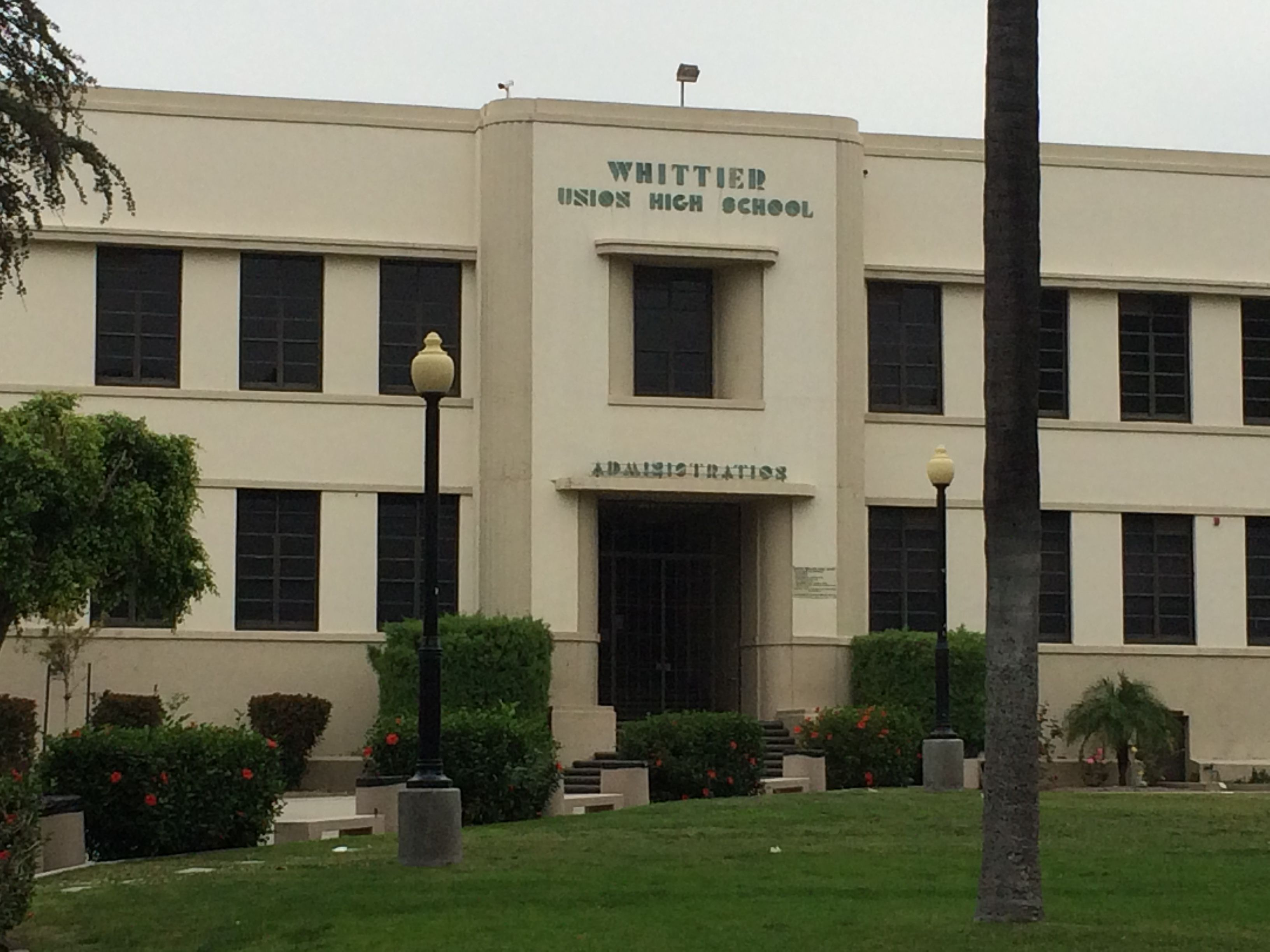 Old Whittier High School Google Search Whittier California