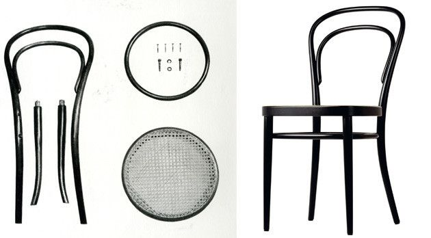 The No 14 chair by Michael Thonet C H A I R Pinterest Design