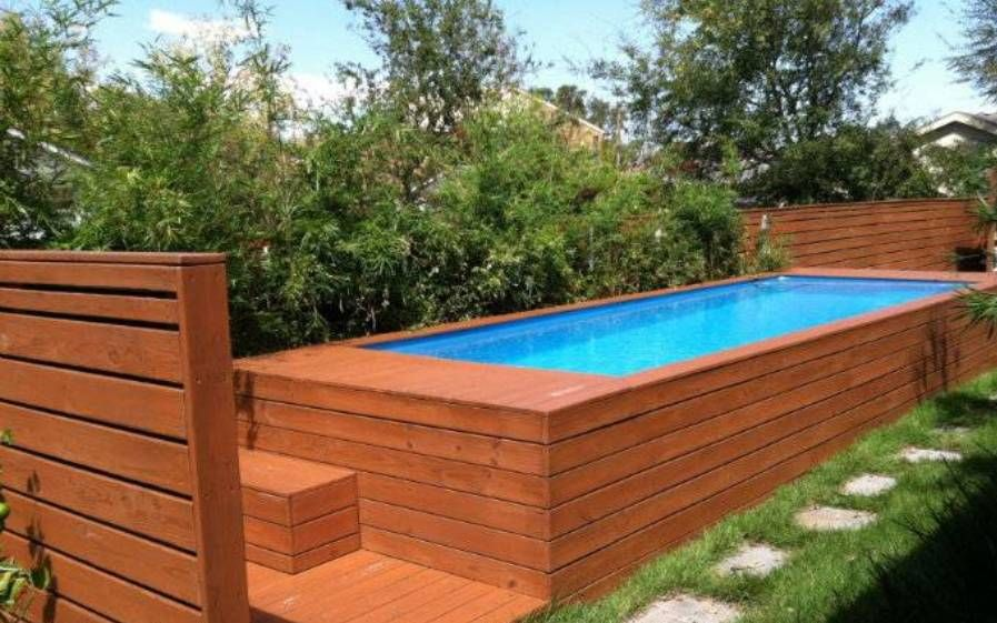 rectangle above ground swimming pools your sprouts home ideas rectangular above ground swimming pools - Rectangle Above Ground Pool Decks