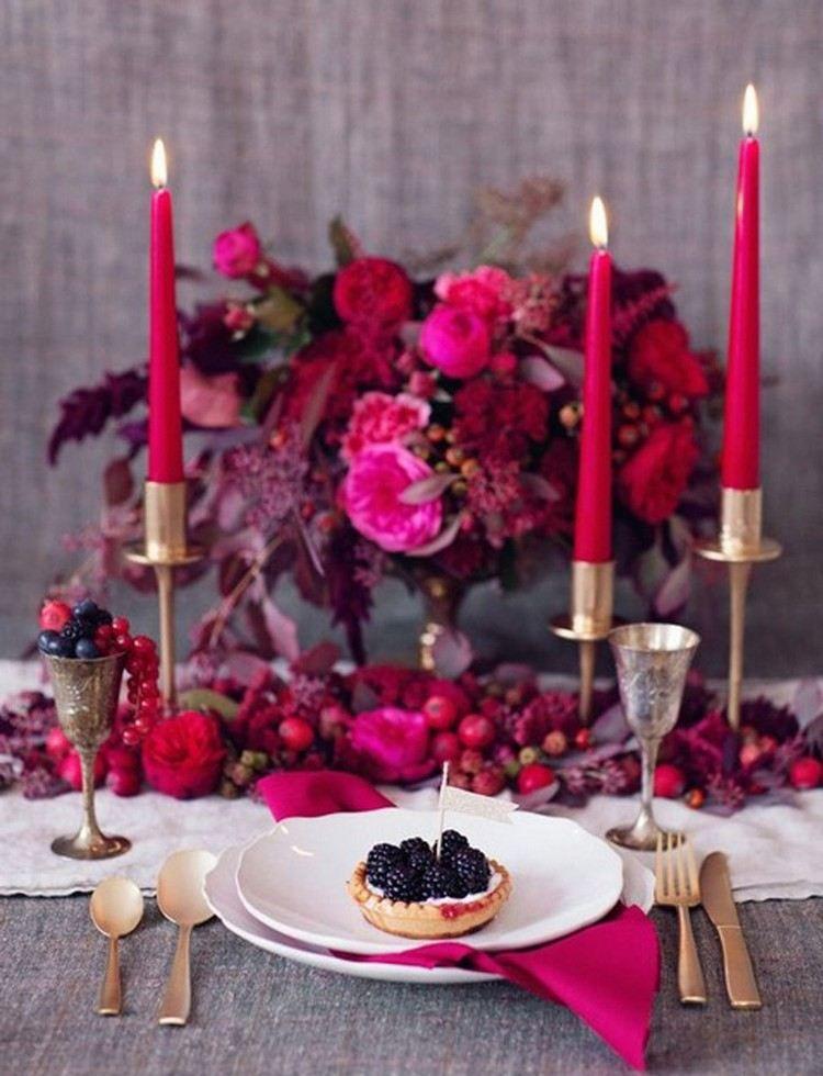 20 id es de d co de table saint valentin romantique et. Black Bedroom Furniture Sets. Home Design Ideas