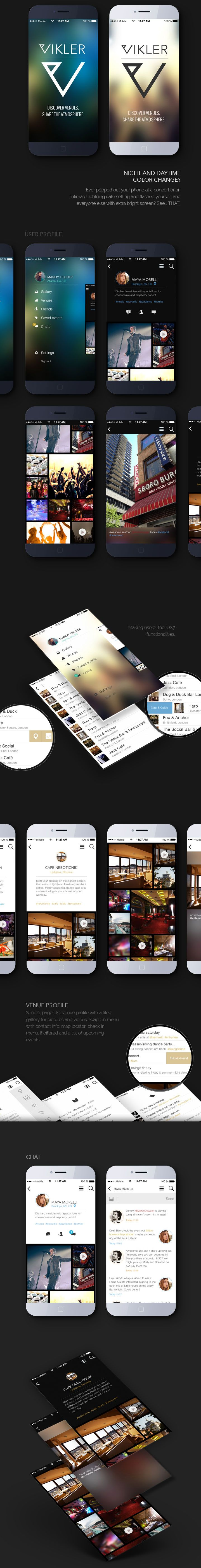 Vikler #mobile application design - #ui