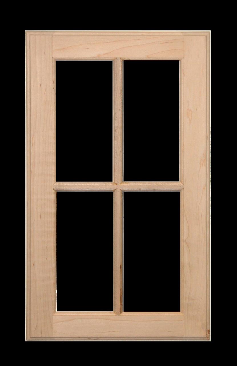 Four Panel Glass Pane Door Paint Grade Maple Glass Pane Door Painted Doors Paneling