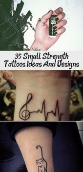35+ Small Strength Tattoos Ideas And Designs – The Life Ideas #tattoodesignsDr…  35+ Small Strength Tattoos Ideas And Designs – The Life Ideas #…