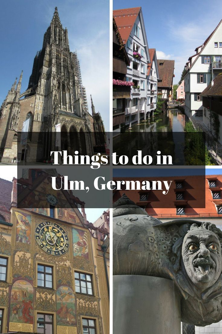 The Best Things to do in Ulm, Germany Attractions and