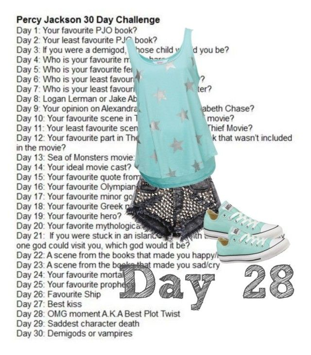 """""""Day 28"""" by watermelon1004 ❤ liked on Polyvore featuring Converse"""