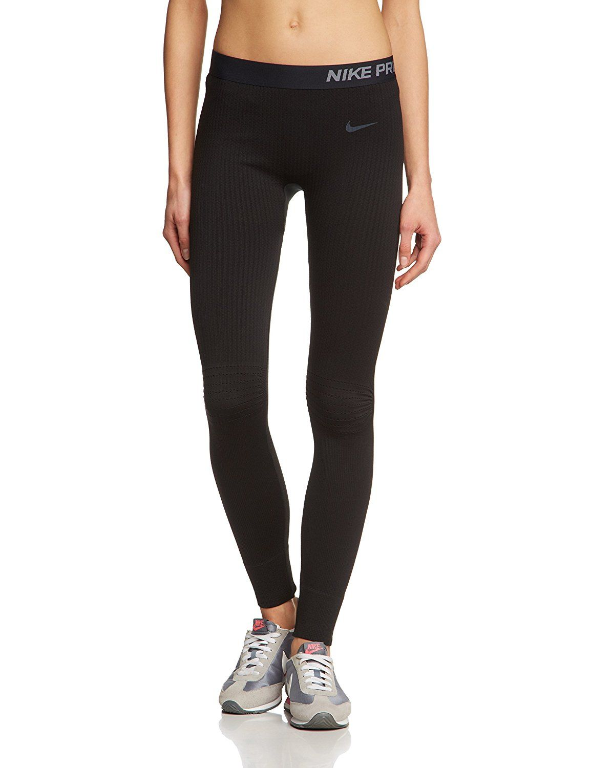 474a448df25fe Amazon.com : Nike Women's Pro Hyperwarm Limitless Tight Black Size X ...