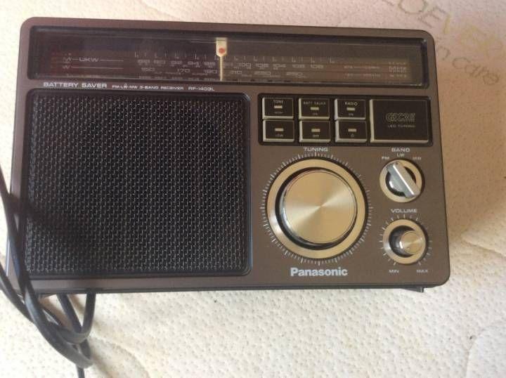poste radio vintage panasonic audio vintage pinterest. Black Bedroom Furniture Sets. Home Design Ideas