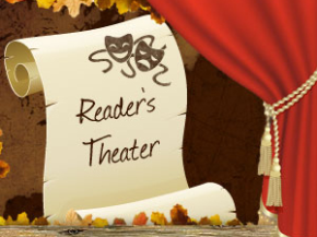 These reader's theater scripts, tips, printable props, and