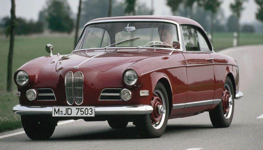 BMW 503 Coupé (1956) Albrecht Goertz designed the body