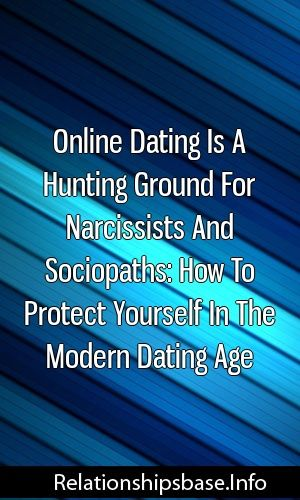 narcissists online dating