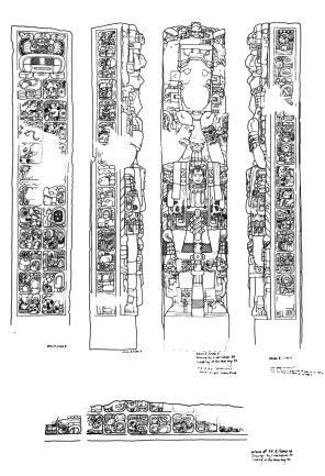 Colecciones de Dibujos de Linda Schele