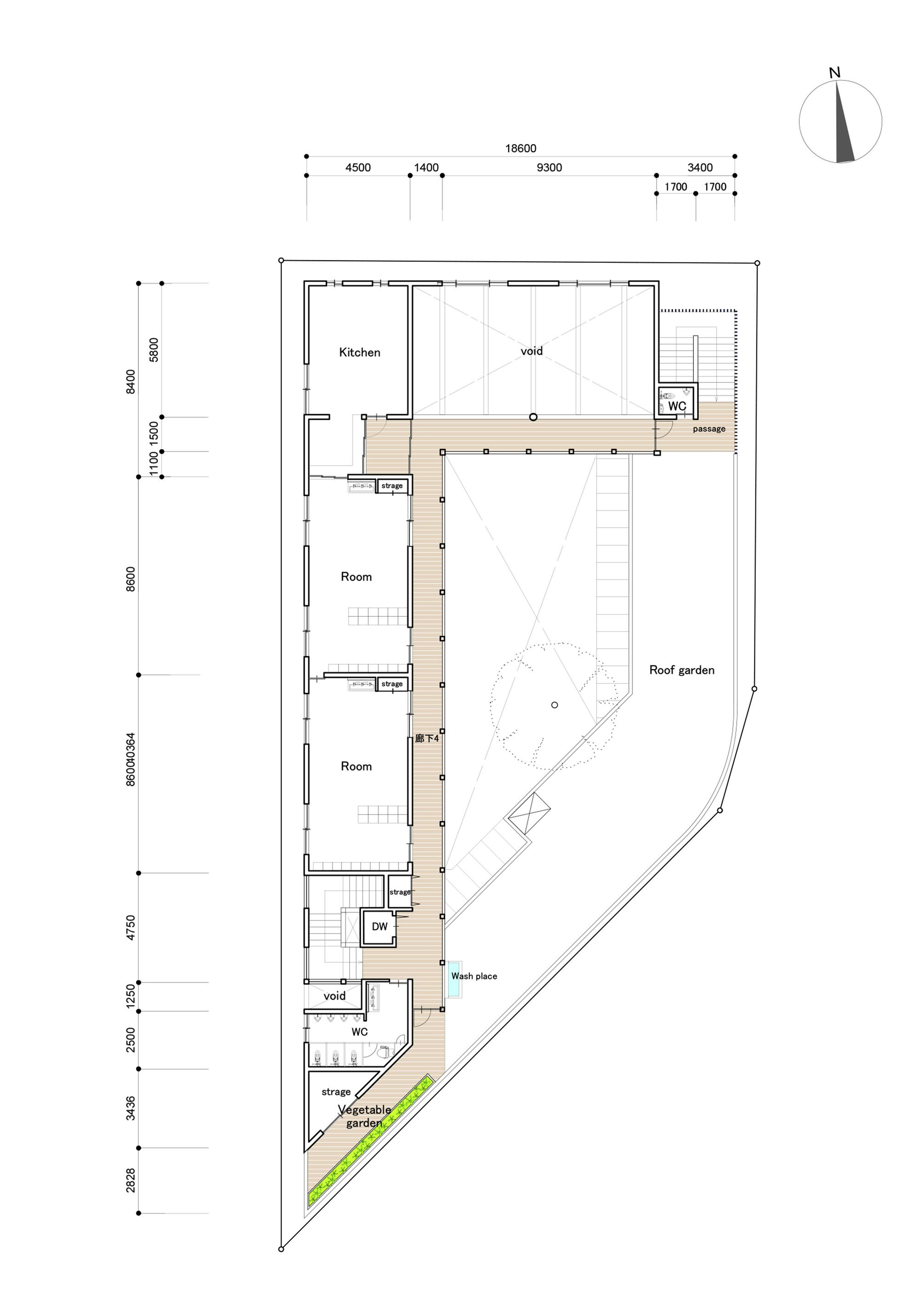 Gallery Of Takeno Nursery Tadashi Suga Architects 12 Floor Plan Design Playground Floor Plan Floor Plans