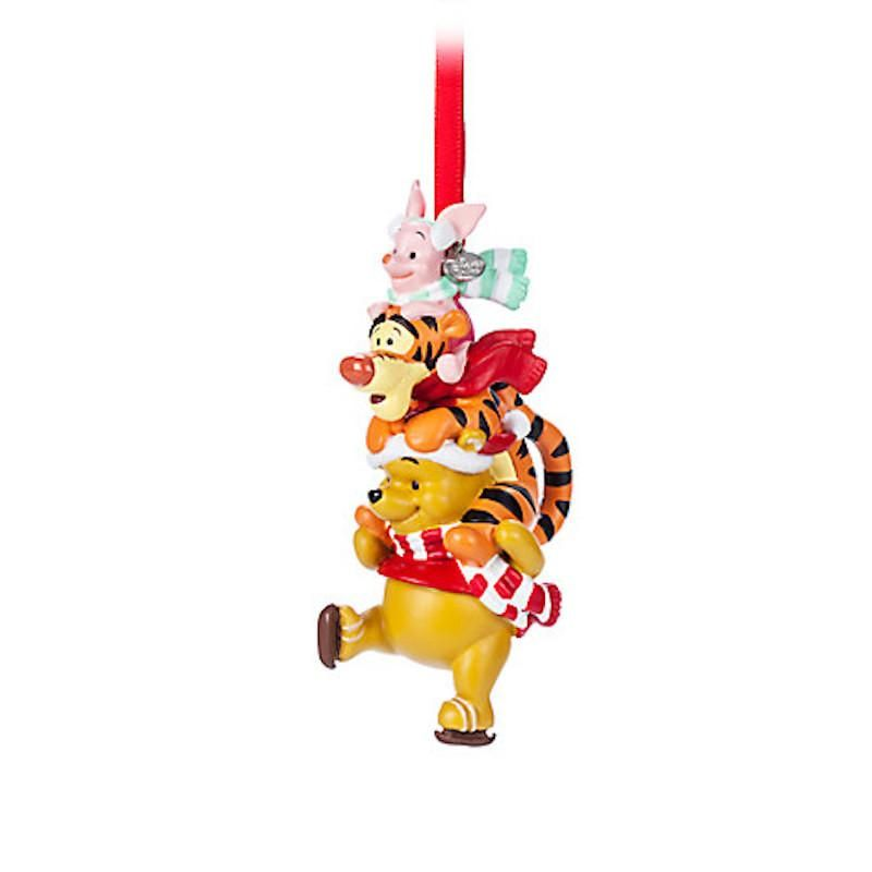 Disney Store 2017 Winnie the Pooh and Pals Sketchbook Ornament New