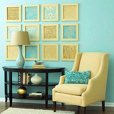 More Easy Home Decor Crafts and Ideas | Paint ideas, Room colour ...
