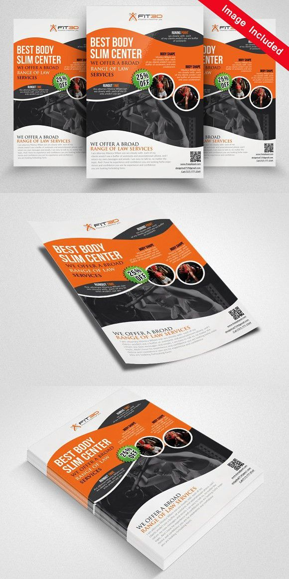 Shape up your Body Fitness Flyer Flyer Templates Flyer Templates