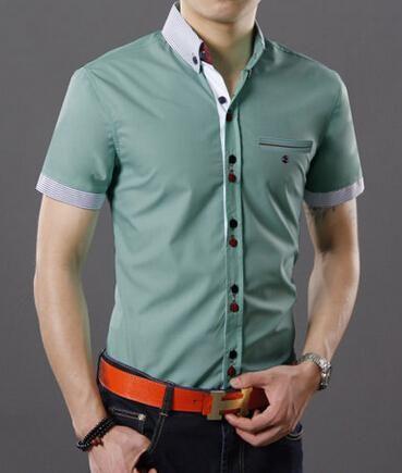 ce904f84c8 moda camisa caballero manga corta - Buscar con Google
