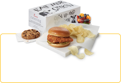 Chick Fil A Breakfast Tray Catering  Catering