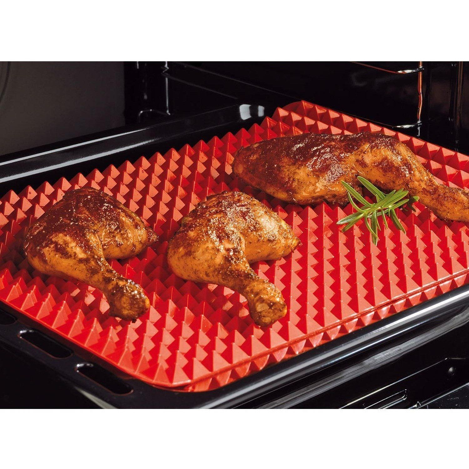 Non Stick Baking And Cooking Mat Chickenrecipeshealthybaked Cooking Cooking Mat Chicken Wing Recipes Baked