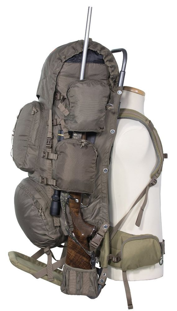 ALPS OutdoorZ Commander Freighter Frame Plus Pack Bag 5250 Cubic ...