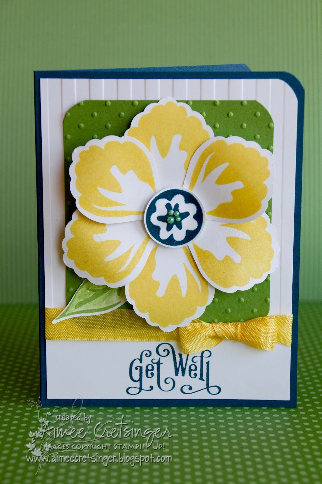 Aimee's Creations: Get Well Blossoms