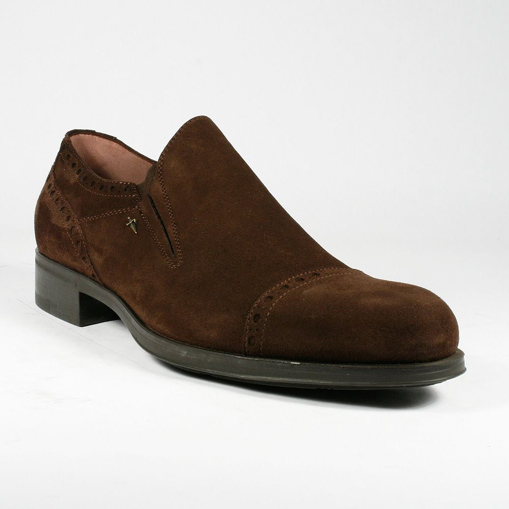 22bc932deb29b Cesare Paciotti Men Shoes Camoscio Ebano Brown Suede Loafers (CPM2256)  Material: Suede Hardware: Antique Gold Color: Brown / Ebano Details:  Designed for ...