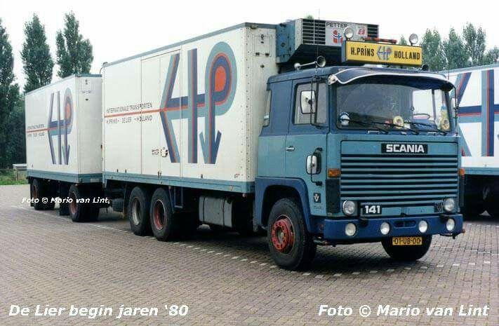 Scania LBS 141. KOELTRANSPORT. COMBINATIE