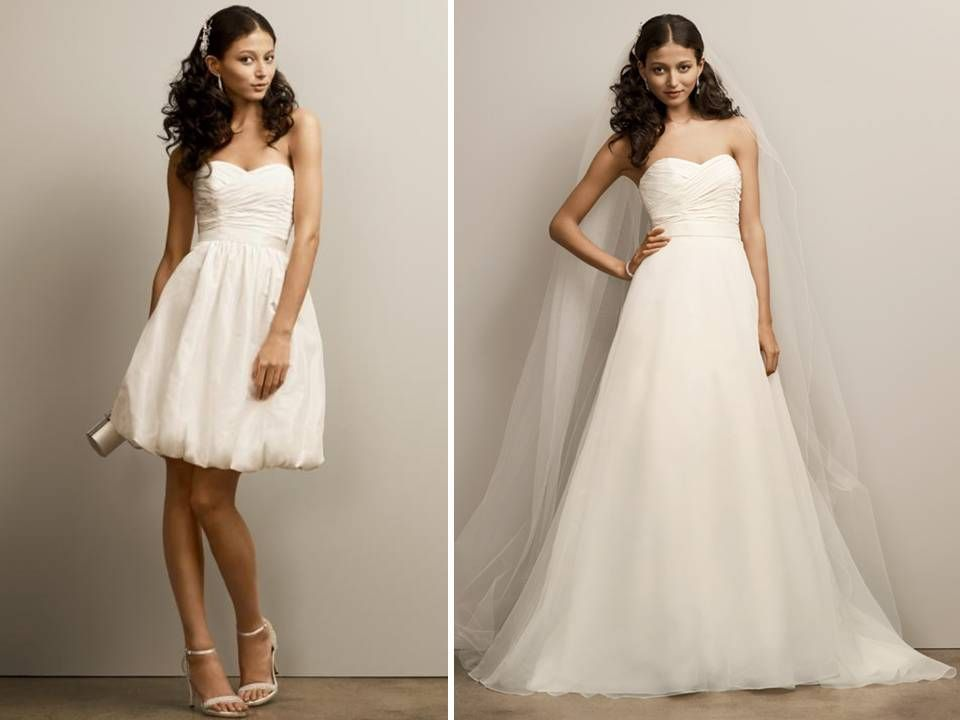 25  best ideas about Convertible wedding dresses on Pinterest ...