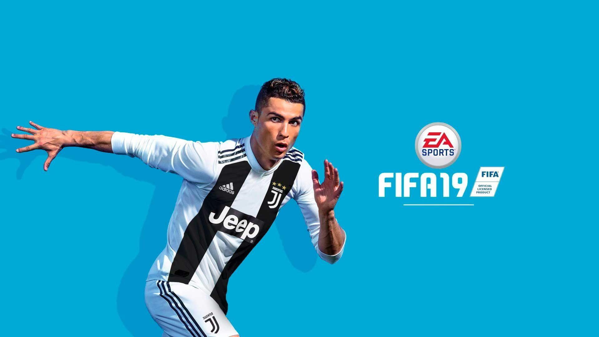 Video Game Fifa 19 Cristiano Ronaldo 1080p Wallpaper Hdwallpaper Desktop Fifa Cristiano Ronaldo Juventus