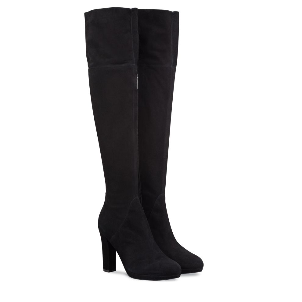 eeb2e6692c1 Wide calf over the knee boots (up to 19