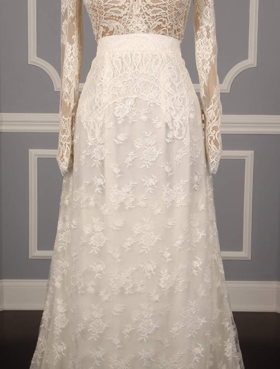 Carolina herrera claudette discount designer wedding dress