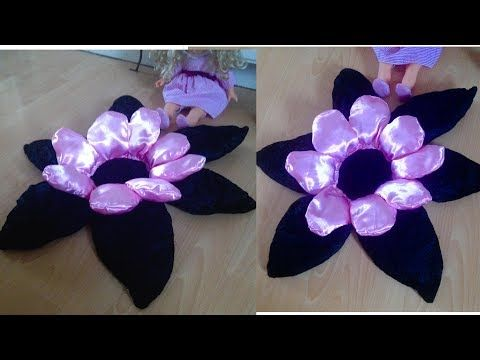 Diy flower shaped floor cushionom decor ideas youtube do it yourself floor cushion in beautiful pink and blackincess girls room decor ideas to try solutioingenieria Images