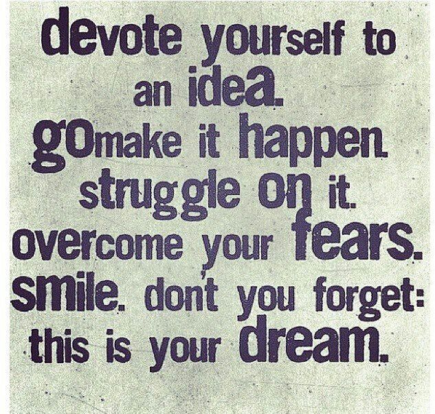 The idea to devote and focus will gain you a lot in life.