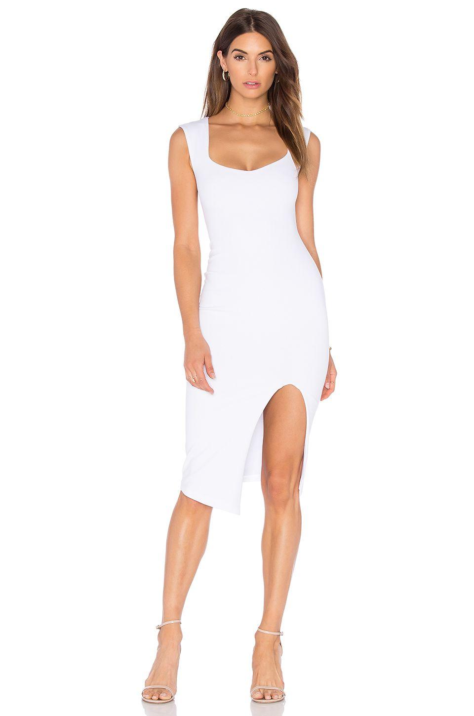Nookie Captivate Square Neck Midi Dress In White From Revolve Com White Dress Little White Dresses Midi Dress [ 1450 x 960 Pixel ]