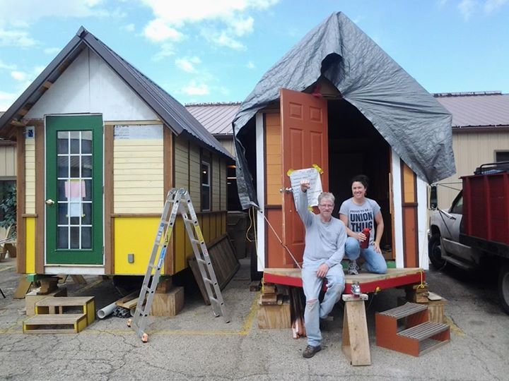 Madison Tiny House Village For The Homeless Tiny House Blog Tiny House Village Tiny House Blog Tiny House