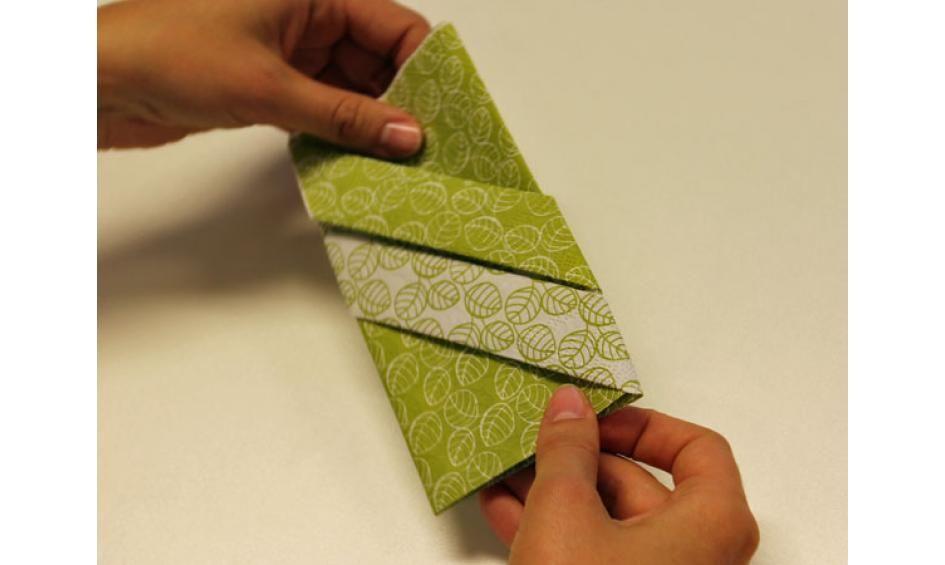 Servietten falten: effektvolle Tischdeko von schnell bis edel | Chefkoch.de