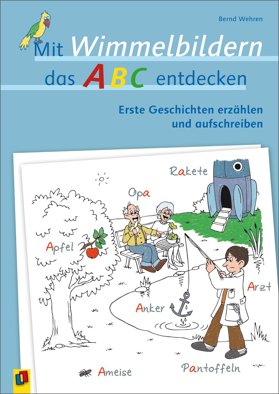 Mit Wimmelbildern Das Abc Entdecken Wimmelbild Abc Das Abc