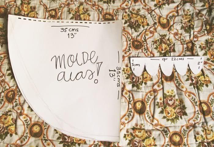 Cuando logré concretar mi primer proyecto de costura -hace apenas unas semanas- me prometí a mí misma que iba a hacer el disfraz de Irene para Hallowen (bueno, en realidad espero que lo usemos much…
