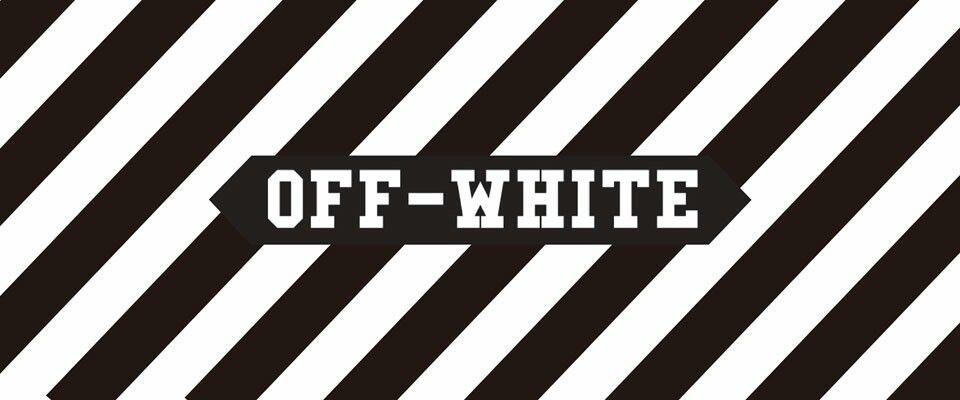 Off White Off White White Stickers Hypebeast Wallpaper