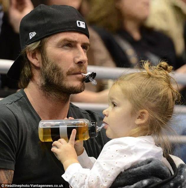 David Beckham Daughter
