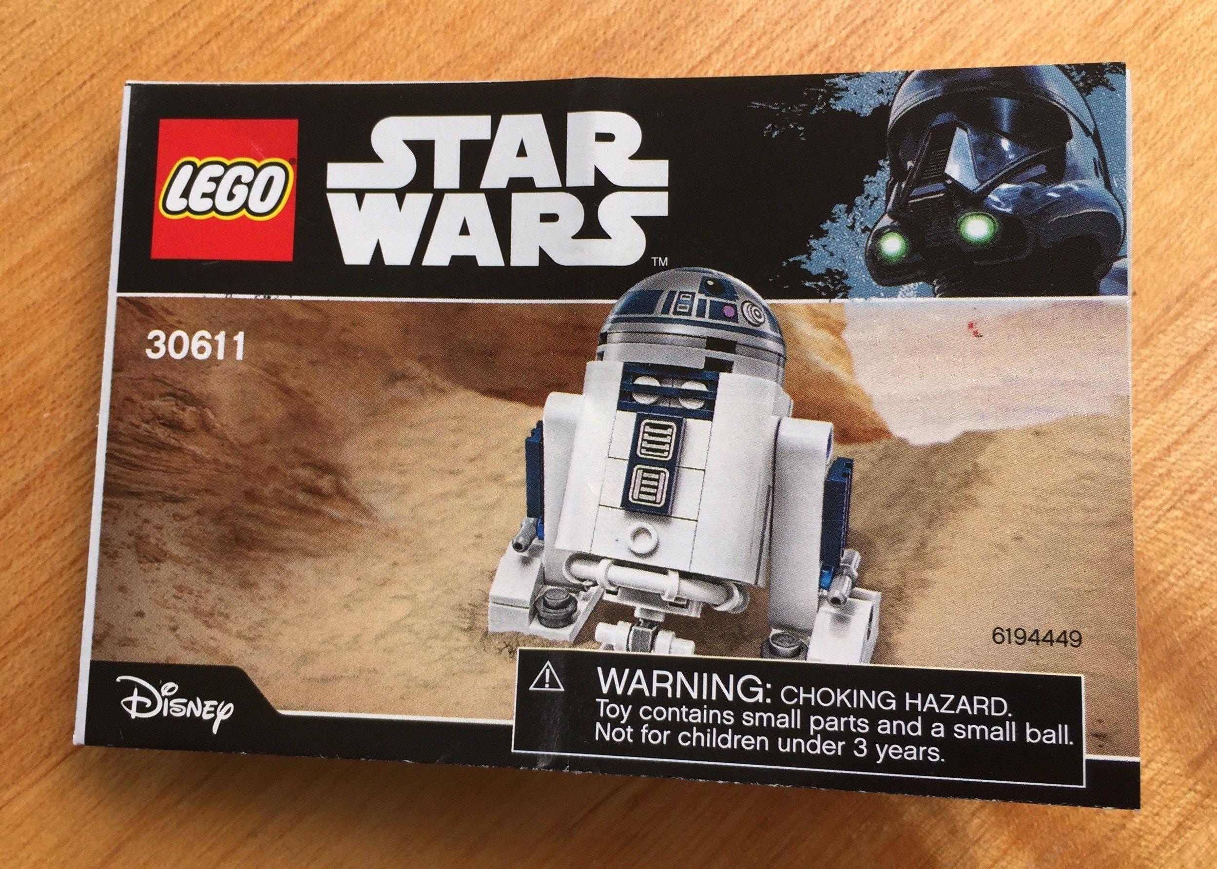 Lego Star Wars 30611 R2 D2 Toy Reviews Lego Lego