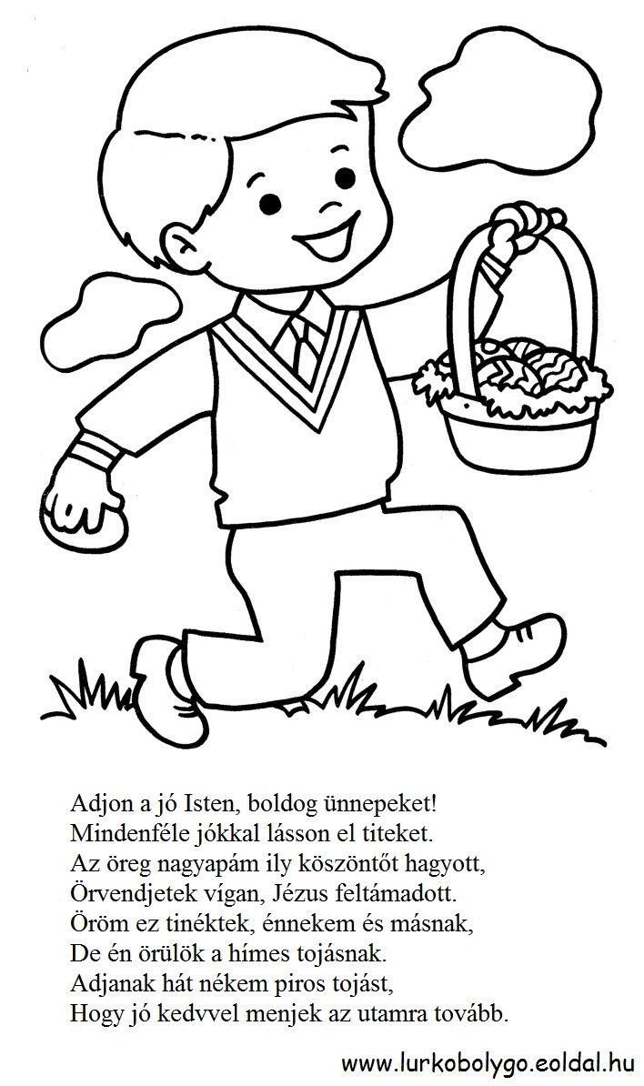 https://www.google.ro/search?q=húsvéti szokások kifestő   Húsvét ...