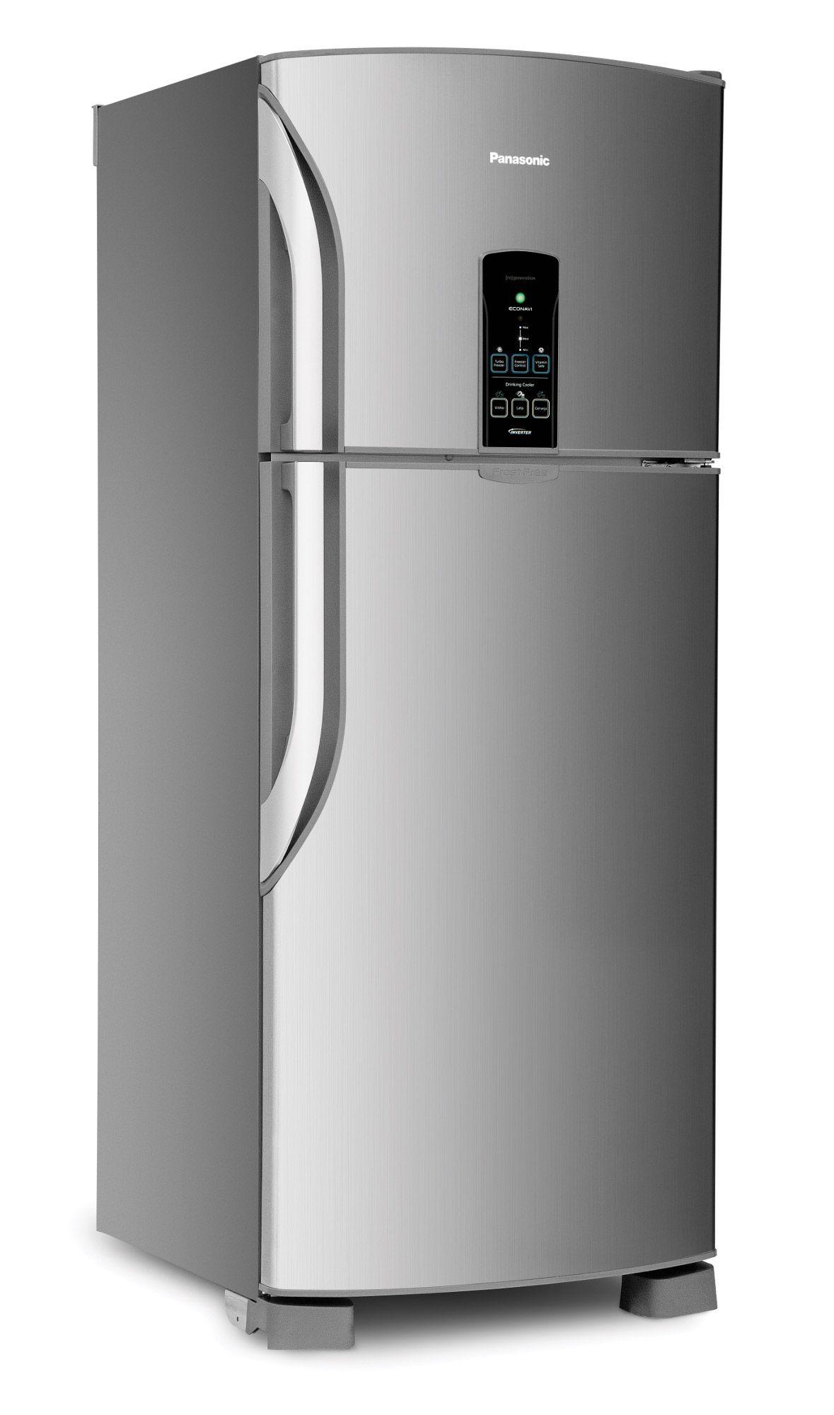 Geladeira Refrigerador Panasonic Inox Nrbt49 Amgeloni Jpg 1179 2000
