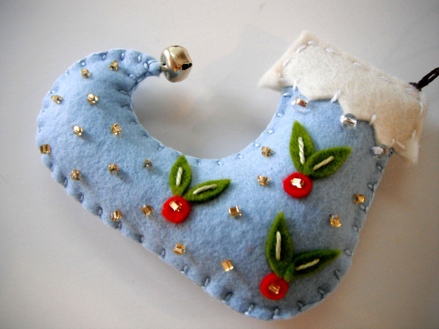 Felt Christmas Ornaments made by MikiStitch ALL HAND-MADE ...