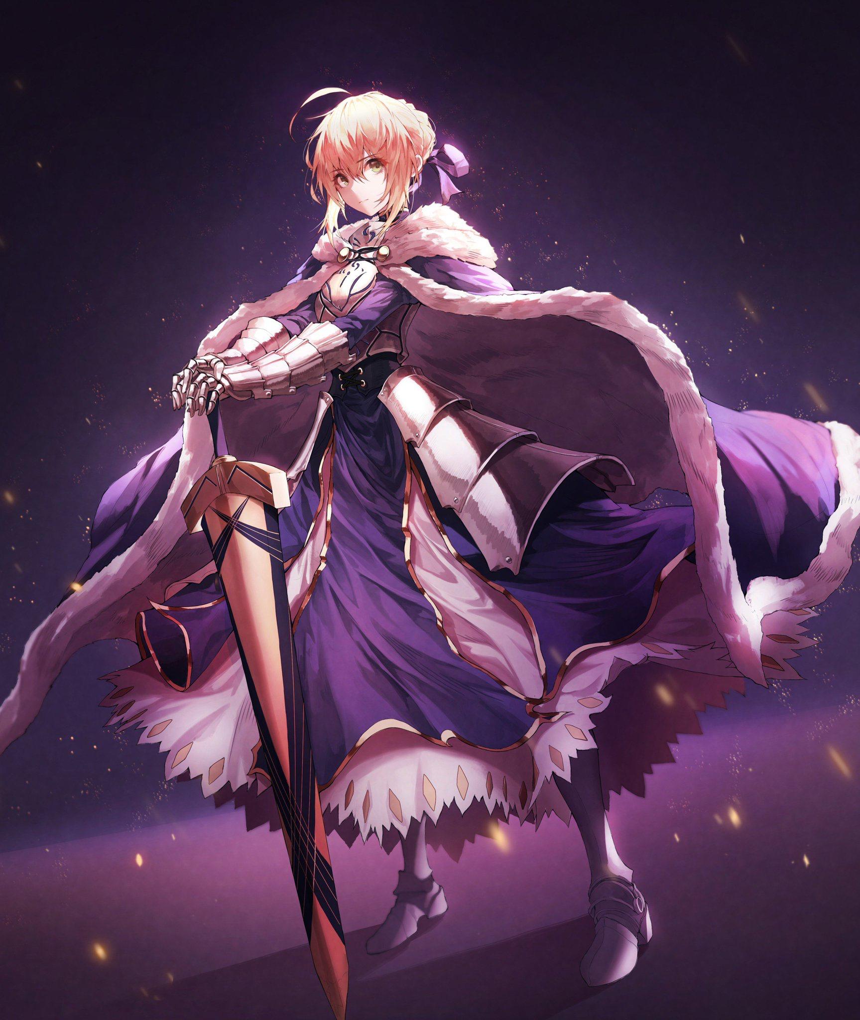 FATE ANIME 【ARTURIA PENDRAGON】 Anime, Fate stay night