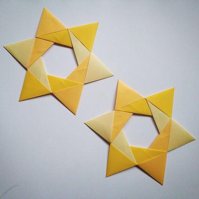 June 25th 2015 Origami Stars I Made Designed By Maria Sinayskaya