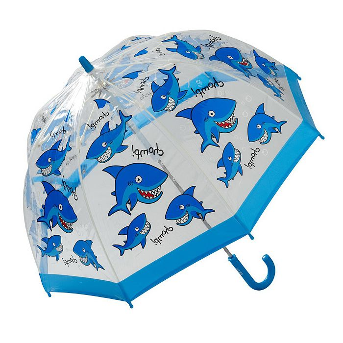 View our wide range of BUGZZ rain umbrellas for kids, including the Clifton Childrens Kids BUGZZ Series Shark. Made from clear PVC featuring cute Designs.