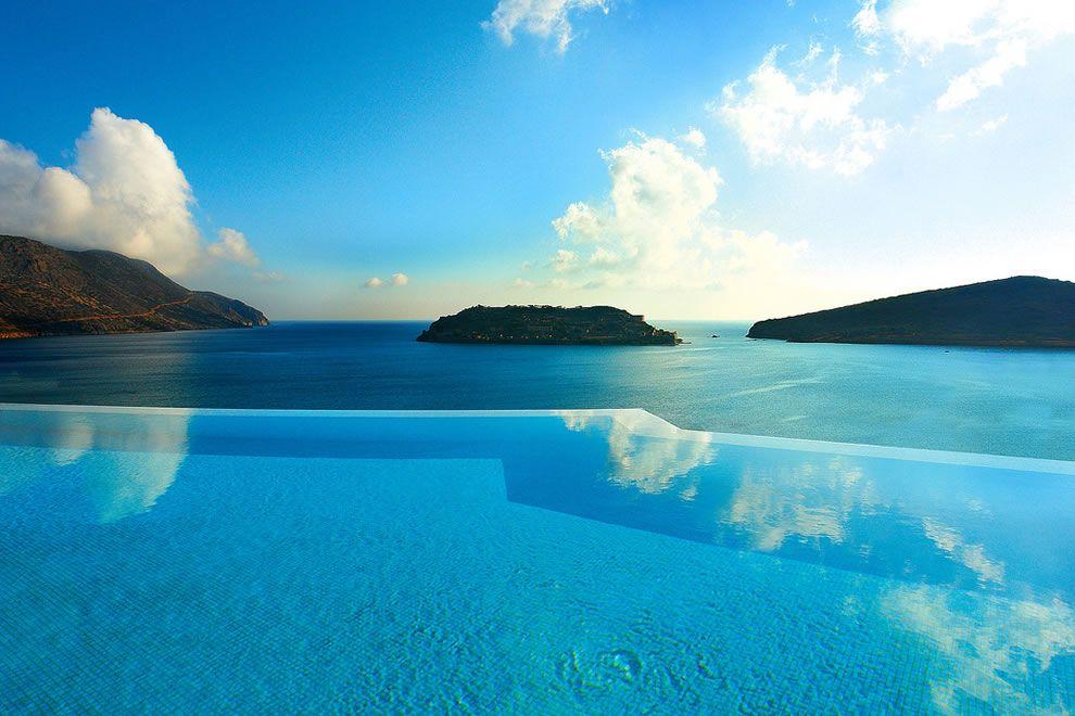 Amazing Poolu2026 Blue Palace Resort Spa Elounda, A Private Infinity Edge Pool In Greece