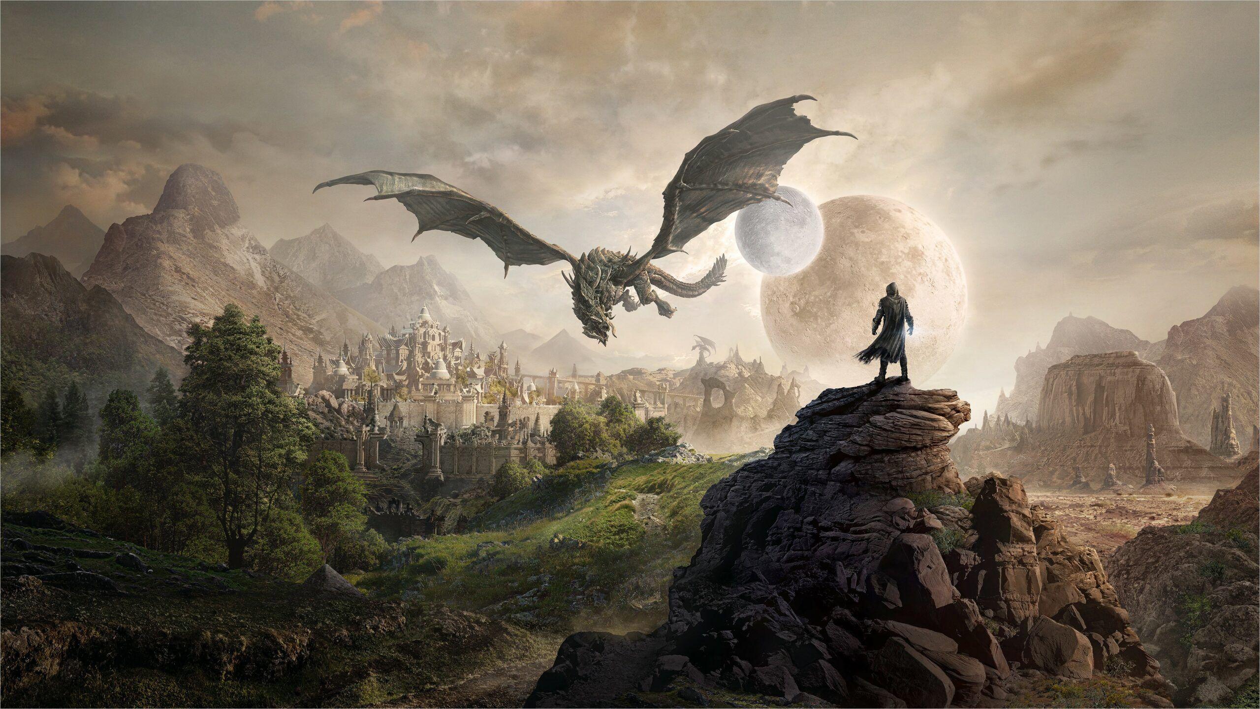 Elder Scrolls Wallpaper 4k In 2020 Elder Scrolls Online Elder Scrolls Skyrim Wallpaper