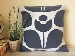 Orla Kiely Cushion Cover             Handmade In Cornwall